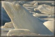 Kruiend ijs fotoserie 1