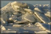 Kruiend ijs fotoserie 3