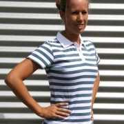 Gestreept Dames Poloshirt
