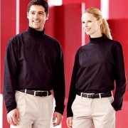Heren col t shirt roll neck