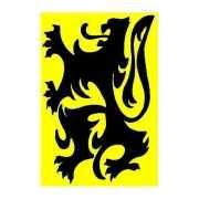Vlaanderen vlag 90 x 150 cm
