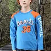 Jongens shirt met lange mouwen