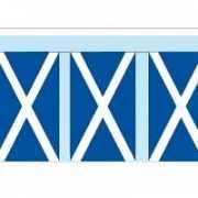 Papieren vlaggenlijnen Schotland