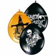 8 stuks halloween ballonnen