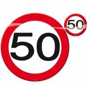 50 jaar tafel feestartikelen
