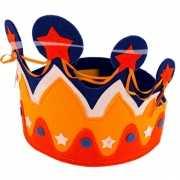 Kroon in Hollandse kleuren