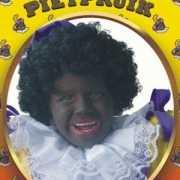 Kinder zwarte Pieten pruik
