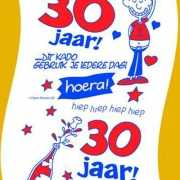 30 Jaar wc papier man