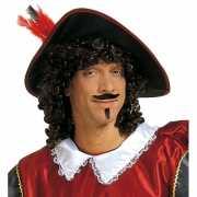 Piraten snor en sik zwart