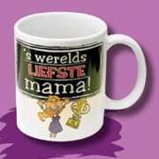 Werelds liefste mamma cartoon mok