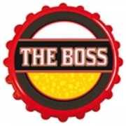 Flesopener met tekst the boss