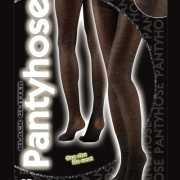 Dames panty in zwarte kleur