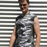 City camouflage heren shirt
