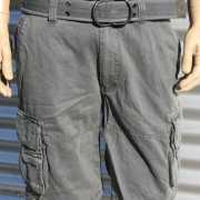Stoere shorts voor heren grijs
