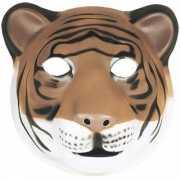 Zacht tijgers masker foam