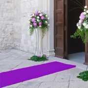 Loper in de kleur paars 1 meter breed