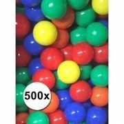 Gekleurde ballenbak ballen per 500