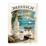 Bruincafe Muurdecoratie Jamaica rum 30 x 40 cm