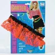 Kouseband voor dames neon oranje
