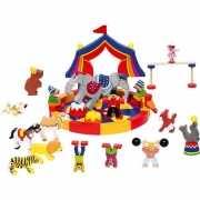 Kinder bouw blokken circus 35 delig