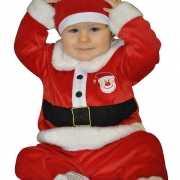 Rood kerst kostuum baby