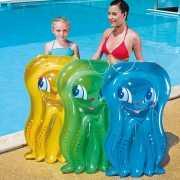 Gekleurd kinder luchtbed octopus