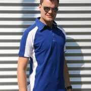 Blauwe polo shirts voor heren Lemon&Soda