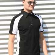 Zwarte polo shirts voor heren Lemon&Soda