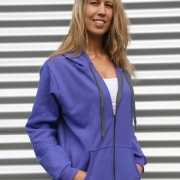Sportief vest voor dames Gildan paars