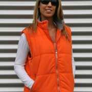 Lemon en Soda oranje dames bodywarmer