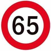 65 geworden bierviltjes