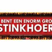 Sticky Devil stickers tekst Stinkhoer