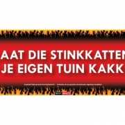 Sticky Devil stickers tekst Stinkkatten