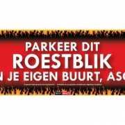 Sticky Devil stickers tekst Roestblik
