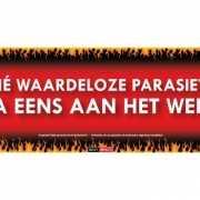 Sticky Devil stickers tekst Waardeloze