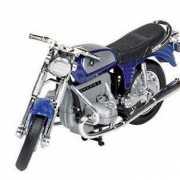 BMW oldtimer speelgoed blauwe motor