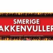 Sticky Devil stickers tekst Smerige zakkenvullers