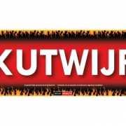 Sticky Devil stickers tekst Kutwijf
