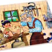 Pinokkio kinder puzzel 20 stukjes