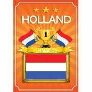 WK Holland deurposter