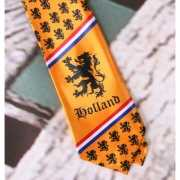 Oranje stropdas Holland thema