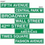 New York wanddecoratie 61 cm