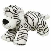Pluche knuffel witte tijger 22 cm
