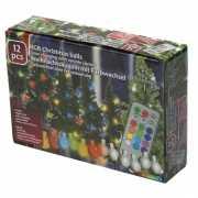 Kerstballen verlichting gekleurd 12 stuks
