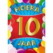 10 jaar thema mega deurposter
