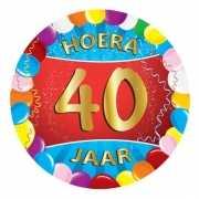 40 jaar verjaardag party viltjes