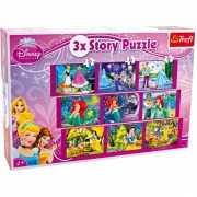 9 verschillende prinsessen puzzels