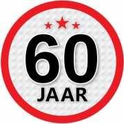 Luxe 60 jaar stickers