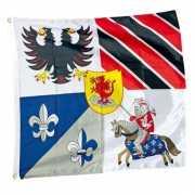 Ridder vlag 100 x 95 cm