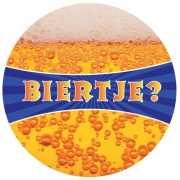 Biertje bierviltjes met bier print